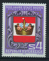AUSTRIA 1980 MNH SC.1142 Baden 500th