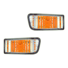 Fits 1999-2002 Toyota 4Runner Driver Passenger Turn Signal Light Assembly 1 Pair