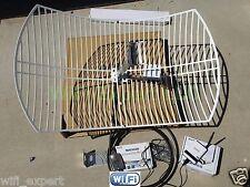 ALFA WiFi Anten 24dBi GRID + R36+ AWUS036H Long Range Booster GET FREE INTERNET