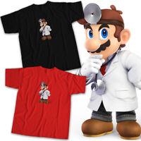 Dr. Mario World Super Smash Bros Ultimate Nintendo Video Game Unisex Tee T-Shirt