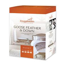 Snuggledown Duvets 13.5 TOG Rating