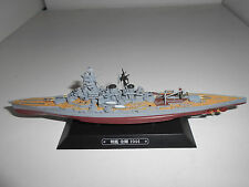CRUCERO BATALLA WARSHIP BATTLE CRUISER IJN KONGO 1944 #05 EAGLEMOSS 1:1100