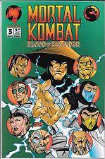 MORTAL KOMBAT BLOOD & THUNDER #3 (VF/NM) MALIBU COMICS