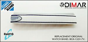 Replacement Original Watch Band Casio BGX-132V-7V
