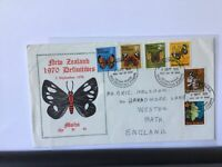 New Zealand 1970 Definitives souvenir stamps cover Ref R25930