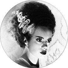 CHAPA/BADGE LA NOVIA DE FRANKENSTEIN . pin button bride of frankenstein terror