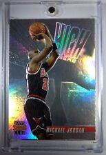 Michael Jordan 1996 STADIUM CLUB HIGH RISERS EMBOSSED Rare Insert, BULLS HOF