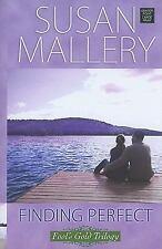 Finding Perfect (Center Point Platinum Romance (Large Print)), Mallery, Susan, G