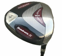 New Integra Quadratic IV 14* Graphite Senior Flex High Lofted Golf Club Driver