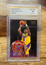 1996-97 Fleer Kobe Bryant Rookie #203 PSG GRADED 10 GEM MINT