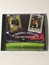"""Ed Nottle """"To Baseball With Love"""" CD OOP Sioux City Explorers Oakland Athletics"""