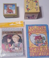 Mary Engelbreit Stationery Mixed Lot Tissues Note Cards Gift Box Notepad