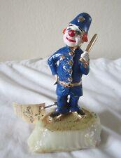 Vintage Signed Ron Lee Policeman Police Clown Figurine Clancy The Cop Policemen
