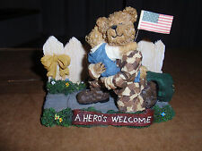 "Boyd'S Bears ""Greg With Mattie."" 2006, A Hero'S Welcome. used!"