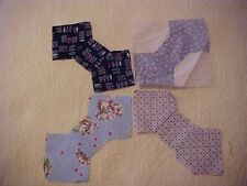 28 Quilt Blocks, Bow Ties, Feedsack & Cotton Prints