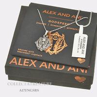 "Authentic Alex and Ani Godspeed (ii) Rafaelian Silver 32"" Expandable Necklace"