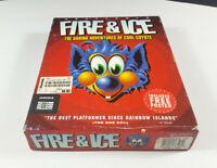 Fire & Ice Commodore Amiga Spiel Big Box OVP VGC CIB Sammler Sammlung
