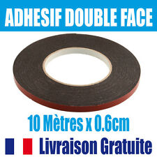 Adhésif Double Face Ruban Bande Mousse autocollant  Colle Forte voiture logo