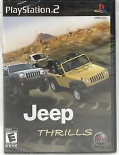 Jeep Thrills PlayStation 2 PS2 Brand New Factory Sealed In Case
