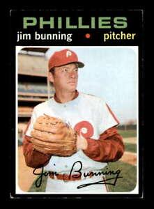 1971 Topps #574 Jim Bunning   EX X2272235