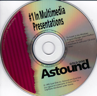 Astound Gold Multi-Media Presentation Software v 2.0 for Windows Vintage
