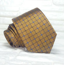 Brown necktie silk Made in Italy classic business / weding ties by Morgana