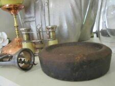 Antique Cast Iron Weight