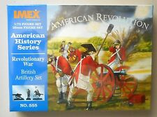 1/72 BRITISH ARTILLERY AMERICAN REVOLUTION SOLDIERS FIGURE Set IMEX MODELS 555