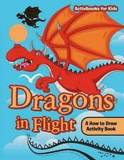 Dragons in Flight by Activibooks For Kids Paperback Book Free Shipping!