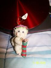 Dreamsicles Holding Her Stocking Christmas Ornament New With Tag