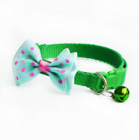 Pet Bowknot Necktie Collar Cute Bow Tie Bell Kitten Puppy Adjustable Dog Cat  BY