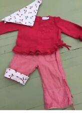 Filles Tenue taille 9 mois motif floral rouge MEXX