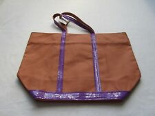 Vanessa Bruno Femme Cabas Medium Sac Bag couleur épice (orange/violet)