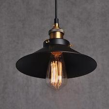 Retro Metal Pendant Light Ceiling Lamp Edison Bulb E27 Vintage Industrial Style
