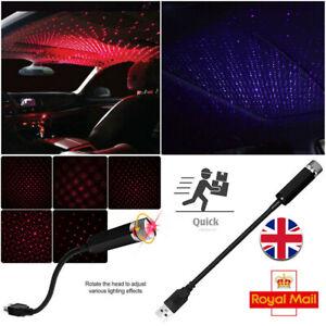 Star Light Mini USB Night Home & Car Roof Projector Romantic Atmosphere Lights