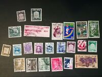 N°182 23 timbres ISRAEL ANNEES 50-60