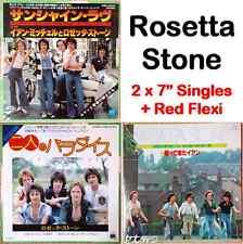 3x Rosetta Stone Sunshine Of Your Love If Paradise Is Half As Nice + Flexi Japan