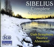 Maurice de Abravanel, J. Sibelius - Symphonies 1-7 [New CD] Boxed Set, Complete