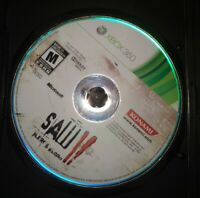 Saw II 2: Flesh & Blood (Xbox 360 2010) Disc only - Horror Suspense Cult Game