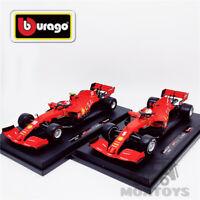 Bburago 1:18 F1 2020 Ferrari Team SF1000 #5/#16 Regular Matte Red