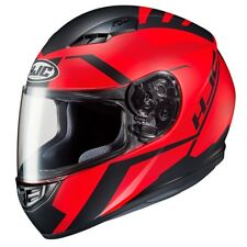 Helm Helmet Helm Capacete Integral CS15 CS-15 Faren Rot Schwarz Matt Größe XL