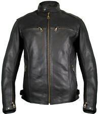MDM Biker Motorcycle Leather Retro Style