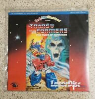 Transformers : Five Faces Of Darkness Generation 1 Laserdisc US Release.