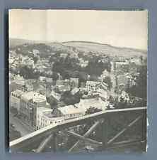 Belgique, Spa, Vue générale  Vintage silver print. België. Belgien  Tirage arg