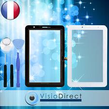 "Vitre ecran tactile pour Samsung Galaxy Tab 2 7.0"" P3100 blanc+ adhésif + outils"