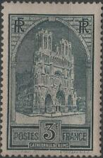 """FRANCE STAMP TIMBRE N° 259 """" CATHEDRALE REIMS 3F TYPE I """" NEUF xx TTB  H251"""