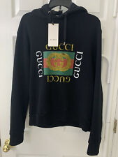Nwt Gucci Logo Hoodie