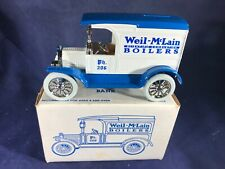 U2-71 ERTL 1:25 SCALE DIE CAST BANK - 1917 FORD MODEL T - WEIL-McLAIN BOILERS