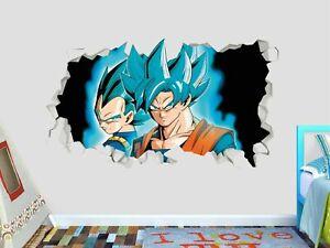 Dragon Ball Z Animation Custom Wall Decals 3D Wall Stickers Art ST258