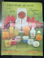 Avon vintage Christmas gift makeup fragrance catalogue, c. 1960s
